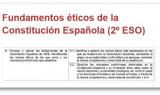 Fundamentos éticos de la Constitución Española