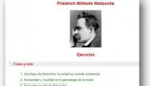 Ejercicios Nietzsche (Webdianoia)